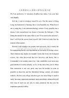大学英语作文之英语口语考试自我介绍