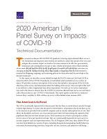 2020年美国生命小组调查COVID-19的影响